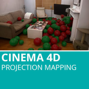 Cinema 4D: Projection Mapping