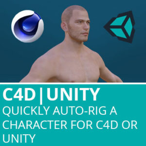 Quickly Auto-Rig A Character For C4D or Unity