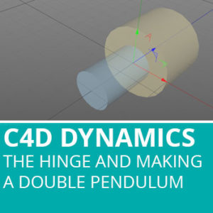 Dynamic Connectors In C4D: The Hinge And Making A Double Pendulum