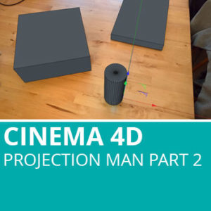 Projection Man In Cinema 4D Part 2: Coverage Camera And Render