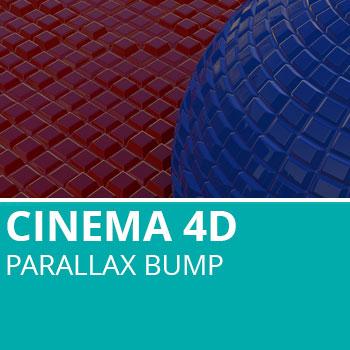 New In Cinema 4D R18: Parallax Bump
