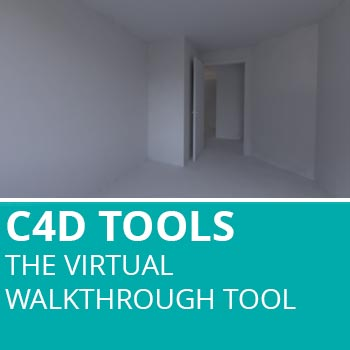 C4D Tools: Virtual Walkthrough