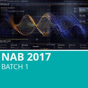NAB 2017 Batch 1