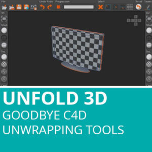 Unfold3D: Goodbye C4D Unwrapping Tools