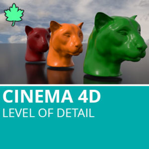 Cinema 4D R19: Level of Detail