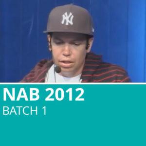 NAB 2012 Batch 1