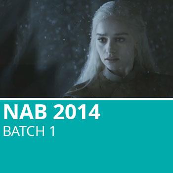 NAB 2014 Batch 1