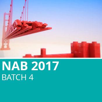 NAB 2017 Batch 4
