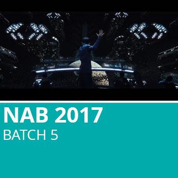 NAB 2017 Batch 5