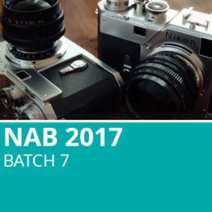 NAB 2017 Batch 7