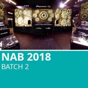 NAB 2018 Batch 2