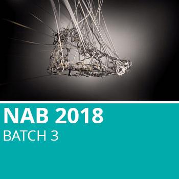 NAB 2018 Batch 3