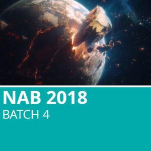 NAB 2018 Batch 4