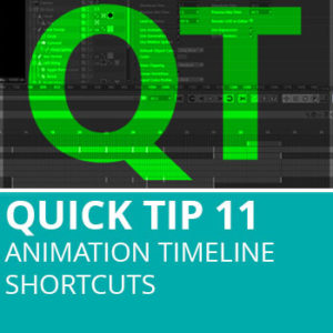 Quick Tip 11: Animation Timeline Shortcuts