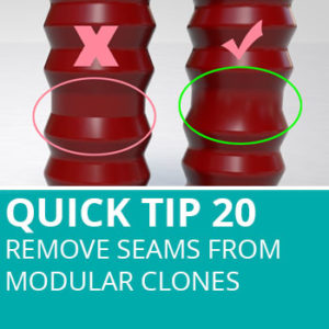 Quick Tip 20: Remove Seams From Modular Clones