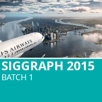 Siggraph 2015 Batch 1