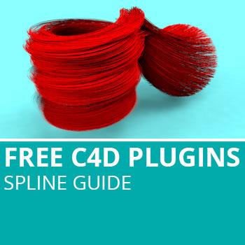 Free C4D Plugins: Spline Guide
