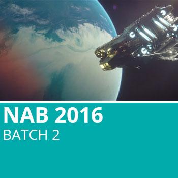 NAB 2016 Batch 2