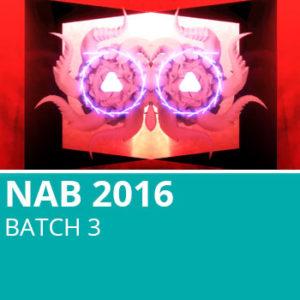 NAB 2016 Batch 3