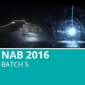 NAB 2016 Batch 5