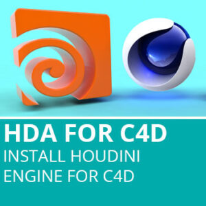 HDA For C4D: Install Houdini Engine For C4D