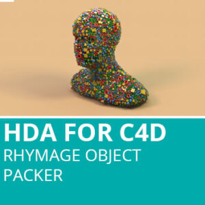 HDA For C4D: Rhymage Object Packer