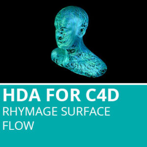 HDA For C4D: Rhymage Surface Flow