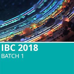 IBC 2018 Batch 1