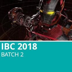 IBC 2018 Batch 2