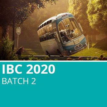 IBC 2020 Batch 2