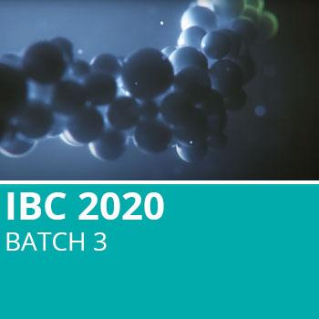 IBC 2020 Batch 3