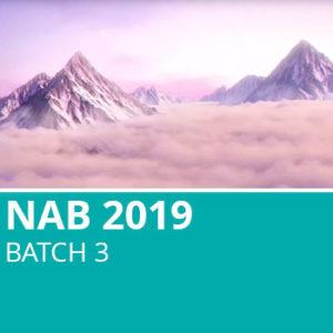 NAB 2019 Batch 3