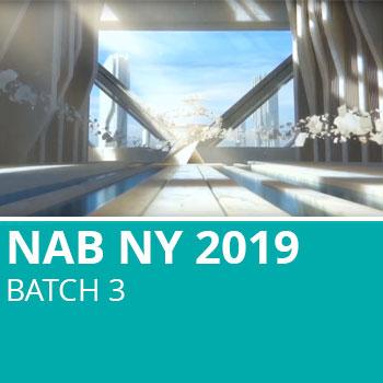 NAB NY 2019 Batch 3
