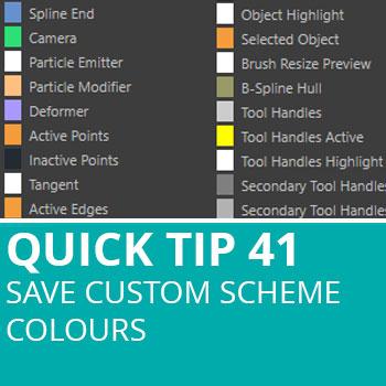 Quick Tip 41: Save Custom Scheme Colours