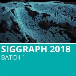 Siggraph 2018 Batch 1
