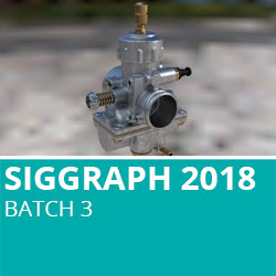 Siggraph 2018 Batch 3