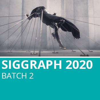Siggraph 2020 Batch 2